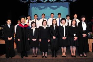 2012年第一屆教會領袖神學證書課程畢業典禮